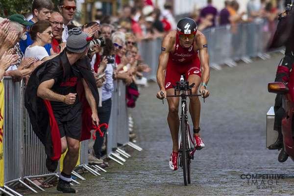 Kuva Triathlete-lehti. Frankfurt Ironman.