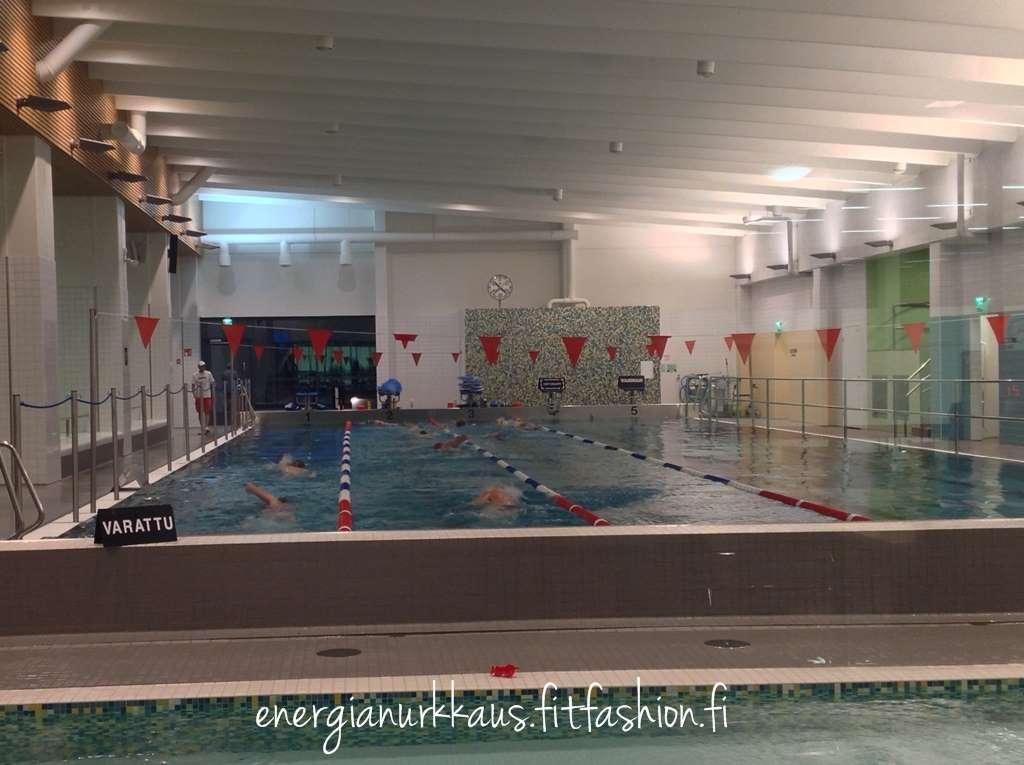 Oli jälleen todella hyvä uintitreeni!