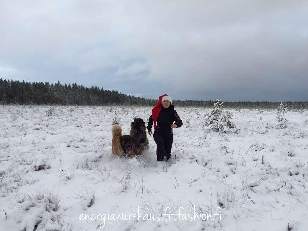 Tänään on Seinäjoella taas lunta!